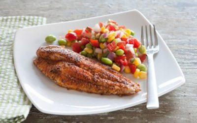 Cajun Spiced Delta Pride Catfish