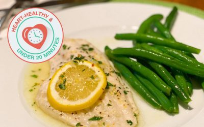 Lemon Butter Catfish – In 20 minutes or less!